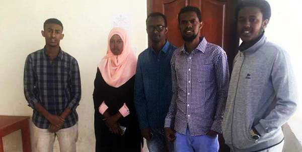 Students at Hargeisa University